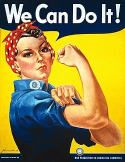 Keeping Rosie The Riveter Safe During World War II – Women Working In Industry