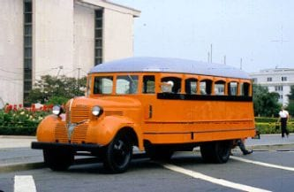 Why School Busses Open Their Boarding Door at Railroad Crossings?