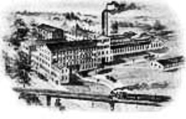 Mallory hat factory in Danbury, Connecticut.