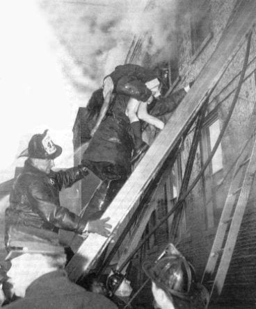 Firefighters rescued as many as possible.