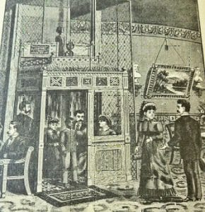 Early Passenger Elevator (Traction Type)