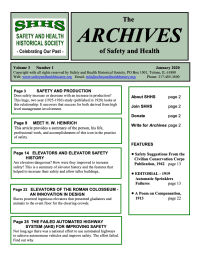 TheArchivesofSafetyandHealth-Volume3-Issue1-January-2020
