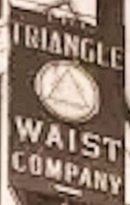 Triangle Waistshirt Company Sign at 8th Floor