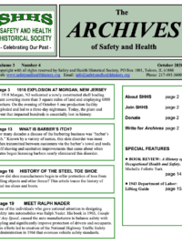 The Archives of Safety and Health - October 2020