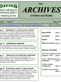 The Archives of Safety and Health - January 2021