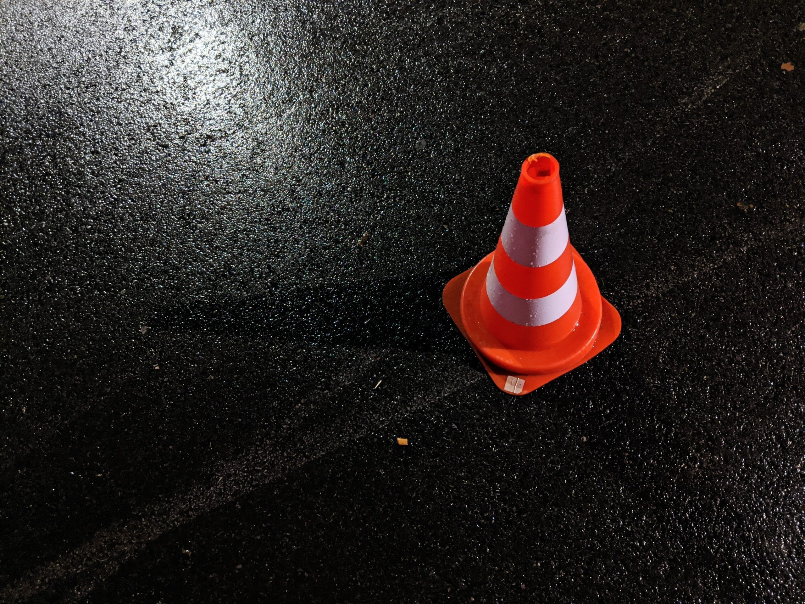 Safety Cone - Accident