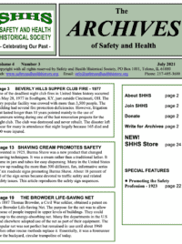 The Archives of Safety and Health - July 2021 Issue